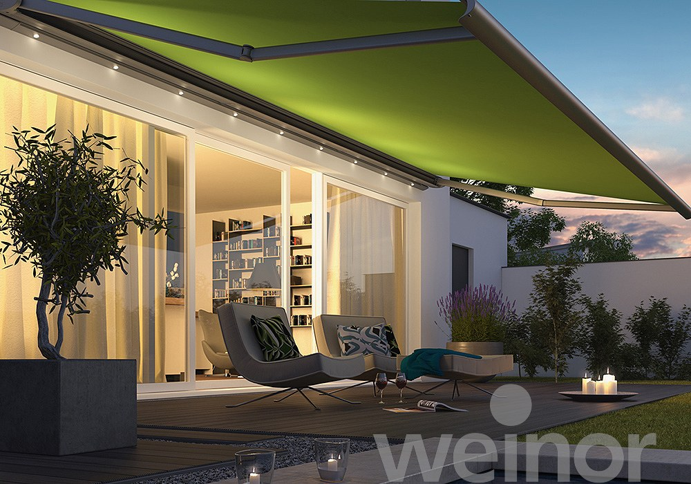 Weinor Sun Awning Green
