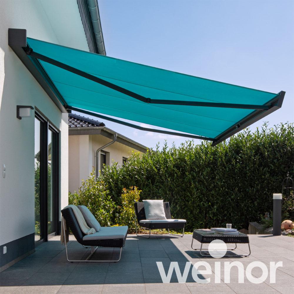 sun awning - product range